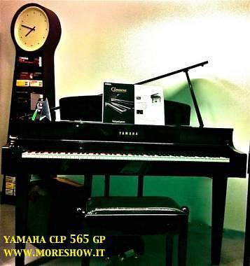 yamaha clp 565 gp nero spedito gratis interessi zero. Black Bedroom Furniture Sets. Home Design Ideas