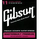 Gibson masterbuilt 80/20 11-52 corde chitarra acustica
