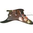 Mascherina pre cablata con pickup Stratocaster - Prewired pickguard - battipenna