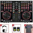 OFFERTA DJ CONTROLLER OMNITRONIC DDC2000+2 STUDIO MONITOR PNM8+CUFFIA DJ SHP5000