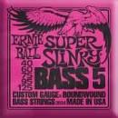 Ernie Ball - 2824 - Super Slinky Bass 5 2 pezzi spedizione inclusa