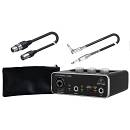 BEHRINGER PACK Scheda Audio USB UM2 / Cavo XLR/XLR / Cavo Jack/Jack Angolato