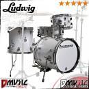 Ludwig lc179x028 breakbeats by questlove batteria acustica travel 4 pezzi EX-DEMO