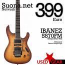 Ibanez S870FM Antique  Burst Flat