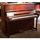 Weisbach UP-110 - pianoforte acustico verticale 110 cm - bubinga satinato