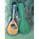 Vecchia mandola cassa bombata scambio con sax soprano