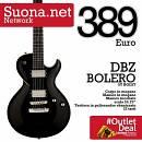 DBZ Guitars Bolero ST BOLST- Black