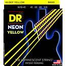 DR Strings K3 NEON HI-DEF YELLOW NYB 45