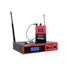 IEM-500 In-ear monitoraggio UHF Professionale Multifrequenza