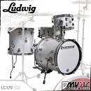 Ludwig lc179x028 breakbeats by questlove batteria acustica travel 4 pezzi