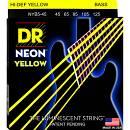 DR Strings K3 NEON HI-DEF YELLOW NYB5 45