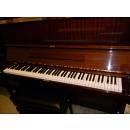 YAMAHA U1 PIANO PIANOFORTE VERTICALE ACUSTICO 121CM NOCE LUCIDO OCCASIONE USATO IN GARANZIA 12 MESI