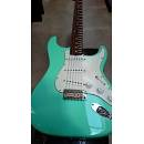 Fender STRATOCASTER '62 50TH ANNIVERSARY CUSTOM SHOP ITALY SURF GREEN