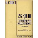 ALBERTO CURCI 26 STUDI DI CAMBIAMENTO DELLE POSIZIONI
