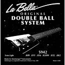 La Bella S942 - CORDE PER STEINBERGER 9-42 DOPPIO PALLINO - DISPONIBILE