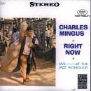 Edizioni musicali CD MINGUS RIGHT NOW: LIVE AT JAZZ WORK -CD1862372-