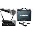 SHURE Pack QLXD24E/B58A / SM58 / Valigetta / Cavo Audio XLR/XLR Bundle