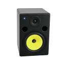 """PNM-8 Nearfield monitor Studio ATTIVI 2 vie 8"""" 100W cono GIALLO"""