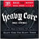 DUNLOP DBHCN55120 Set per Basso Heavy Core 4 strings 55-120
