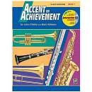 ACCENT ON ACHIEVEMENT PER CLARINETTO EB BOOK 1