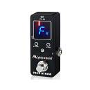 MIGHTYSOUND PT-06 PEDAL TUNER ACCORDATORE A PEDALE PER CHITARRA TRUE BYPASS