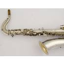 Buescher sax c melody in do argentato matricola 120145 usato