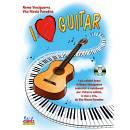 Edizioni musicali VINCIGUERRA PARADISO I LOVE GUITAR +CD -EC11798-
