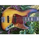 1971 Fender Jazz Bass - Sunburst - Plays Great! - OHSC