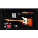 Fender Custom Shop Fat Telecaster 66 HB Humbucker Heavy Relic Red Wide Sunburst 2010 Used