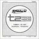 D'Addario Titanium treble T2 T4503 T4502 T4501 cantini