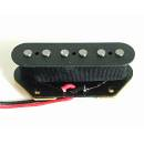 Artec Alnico 5 Single Coil Tele Bridge Pickup Black @
