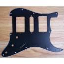 Battipenna Black 3-ply strat pickguard HSH high quality