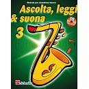 ASCOLTA LEGGI E SUONA VOL 3 SAX TENORE + CD