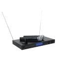 Sistema completo di 2 microfoni senza fili 2 canali VHF-450 Wireless