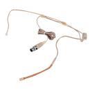 EH-4 microfono archetto color pelle PROFESSIONALE omni-direzionale condensatore