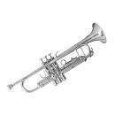 Bach Tr501s - Tromba In Sib Argentata