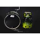 DW DRUMS Collector's Satin Specialy - Lime to Black Fade
