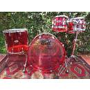 "PEARL Crystal Beat, 22"", 10"", 12"", 16""; Ruby Red. New. (Vistalite)"