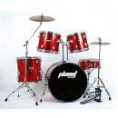 Planet Drum P-2000 - batteria acustica completa - DB52-127 rosso metallizzato