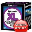 Speciale promo D'addario EXL120 09-42 Super Light (10 mute)