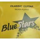 BLUE STARS CORDA SINGOLA PER CHITARRA CLASSICA NYLON CHIARO PALLINO FINALE 3°