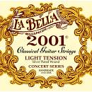 LA BELLA 2001 MUTA CORDE PER CHITARRA CLASSICA LIGHT TENSION