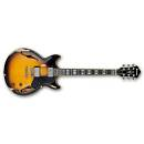 Ibanez AMV100FMD-YSL Chitarra Elettrica semi-hollow - Atstar Distressed - Yellow Sunburst low gloss