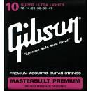 Gibson masterbuilt 80/20 10-47 corde chitarra acustica