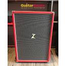 Dr.Z Z Best Cabinet 2x12 Red Tolex Salt Pepper Grill Cloth Used