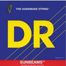 DR NMLR 45-100 SUNBEAM muta per basso 4 corde nickel plated