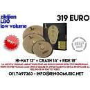 ZILDJIAN L80 - LOW VOLUME! SET DI PIATTI MUTI! IDEALI PER STUDIO! GARANZIA UFF!