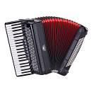 Soundsation Voce Iv A41120-bk - Fisarmonica 120 Bassi 3/4 Nera