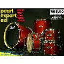 PEARL EXPORT 22 10 12 16 14R + HARDWARE! FUSTI PIOPPO/MOGANO IN GARANZIA UFF ITA