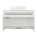 Yamaha Clavinova Clp545 White - Pianoforte Digitale 88 Tasti Bianco